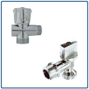 Angle (mini) ball valve